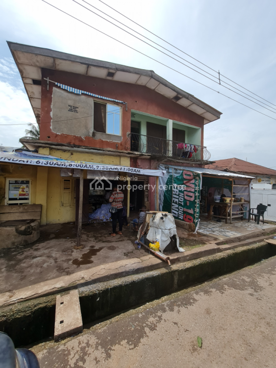 Strategically Positioned Plot of Land with an Old Building, Nnobi Street Uwani Off Union Bank Plc,ziks Avenue, Enugu, Enugu, Mixed-use Land for Sale