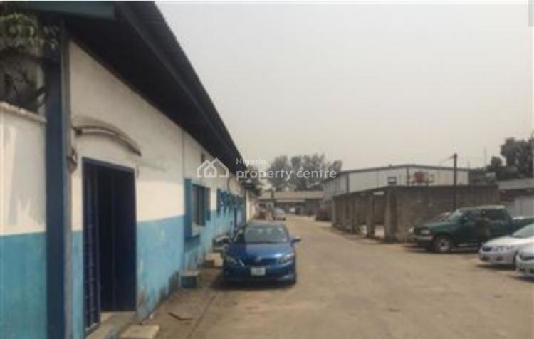 9,548sqm Land with 6,000sqm Warehouse, Ilupeju Industrial Estate, Ilupeju, Lagos, Commercial Land for Sale