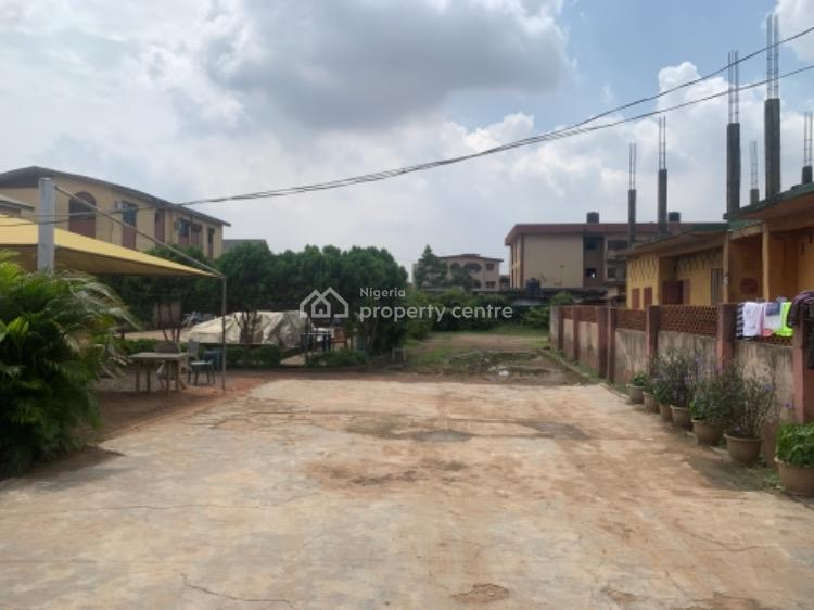2800sqm Fenced Land Suitable for Residential/commercial Use, Ibari Street, Agege/ogba, Ogba, Ikeja, Lagos, Mixed-use Land for Sale