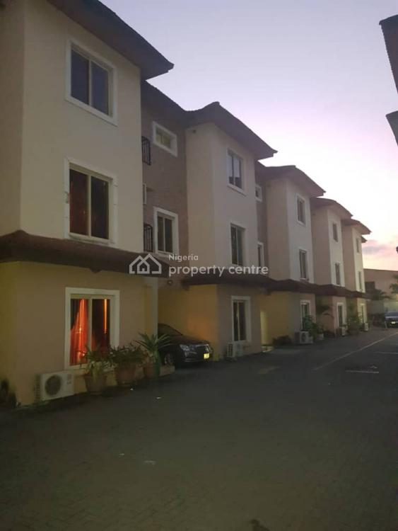 4 Bedroom Terrace House with One Room Bq and Swimming Pool, Adebayo Doherty Road, Lekki Phase 1, Lekki, Lagos, Terraced Duplex for Sale