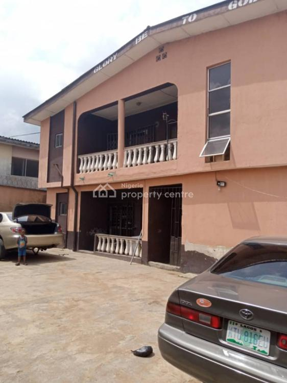 3 Bedroom Block of 4 Flats, Off Bamisile Street, Egbeda, Alimosho, Lagos, House for Sale
