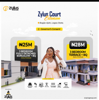 Newly Launched Estate, Bogije, Ibeju Lekki, Lagos, Detached Bungalow for Sale