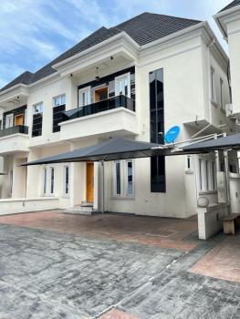 Serviced 4 Bedroom Semi Detached Duplex with a Room Bq, Chevron, Lekki, Lagos, Semi-detached Duplex for Rent