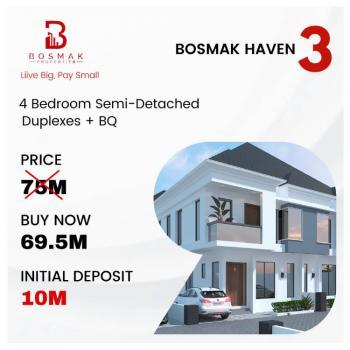 Luxury 4 Bedroom Semi Detached Duplex, Harris Drive By Vgc Off Lekki Epe Express Way, Vgc, Lekki, Lagos, Semi-detached Duplex for Sale