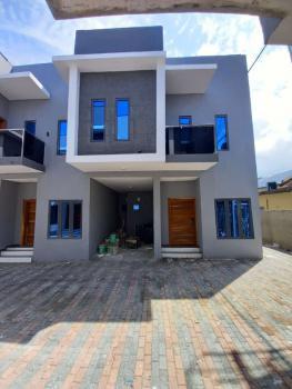 Service 4 Terrace Duplex with Bq, Gated Estate, Agungi, Lekki, Lagos, Terraced Duplex for Rent
