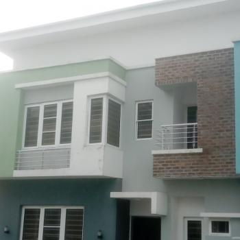 Brand New 4 Bedroom Terraced Duplex with Bq, Lilly Garden Estate Around Abraham Adesanya, Ajah, Lagos, Terraced Duplex for Rent