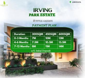 Buy and Build Dry Land with Approved Govt Title, Awoyaya, 2minutes Away From Mayfair Gardens, Abijo, Lekki, Lagos, Mixed-use Land for Sale