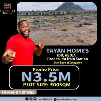 Land, Tayan Estate, Idu Industrial, Abuja, Residential Land for Sale