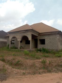 Spacious Detached 3 Bedroom Bungalow Carcass with Bq Space, By Pengason Estate, Lokogoma District, Abuja, Detached Bungalow for Sale