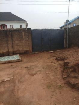 Half Plot of Land with Uncompleted 3 Bedroom Bungalow, Prime Gardens Estate, Aboru, Abule Egba, Agege, Lagos, Residential Land for Sale