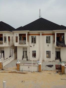 Newly Built 4 Bedroom Semi Detached Duplex with Bq, By 2nd Toll Gate, Lekki Phase 2, Lekki, Lagos, Semi-detached Duplex for Sale