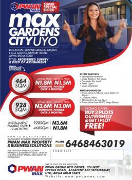 Land, Max Gardens Estate, Uyo, Akwa Ibom, Mixed-use Land for Sale