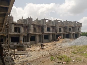 a Classic 5 Bedroom Terrace Duplex, Airport Road, Jabi, Abuja, Terraced Duplex for Sale