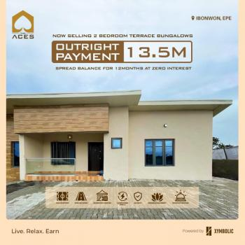 Contemporary 2 Bedroom Terrace Bungalow, Epe, Lekki, Lagos, Terraced Bungalow for Sale