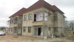 Newly Built Well Finished 3 Bedrooms Duplex with Bq and 1 Room Guest Chalet, Dawaki Opposite Gwarimpa Just After Katamkpe Diplomatic Zone, Gwarinpa, Abuja, Detached Duplex for Sale