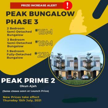 2 Bedroom Bungalow and Lots More, Along Abraham Adesanya -ogombo, Okun-ajah, Ajah, Lagos, Detached Bungalow for Sale