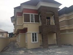 Large 5 Bedroom Fully Detached House With 2 Room Bq And A Laundry On 600 Sqm, Lekki Phase 1, Lekki, Lagos, 5 bedroom, 6 toilets, 5 baths Detached Duplex for Sale