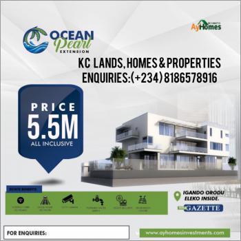 Beach Front Estate, Gazette, High-yield Investment Return, Ocean Pearl Extention, Eleko, Ibeju Lekki, Lagos, Commercial Land for Sale