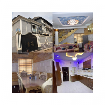Building with of 4 Bedrooms Detached Duplex with 12 Nos of Mini Flat, Alafia Estate, Ogba, Ikeja, Lagos, Detached Duplex for Sale