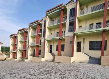 Brand New House, Guzape District, Abuja, Terraced Duplex for Sale