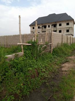 One and Half Plot of Land Fully Fenced Round, Avu Pocket Layout Avu, Off Port Harcourt Road, Owerri Municipal, Imo, Land for Sale