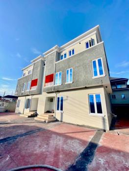 Well Finished Serviced 4 Bedroom Terrace with a Room Bq, Ikate Elegushi, Lekki, Lagos, Terraced Duplex for Rent