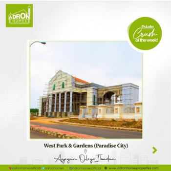 Plots of Land at Adron Estate in Ibadan, West Park and Gardens, Oleyo Ibadan, Oluyole, Oyo, Residential Land for Sale