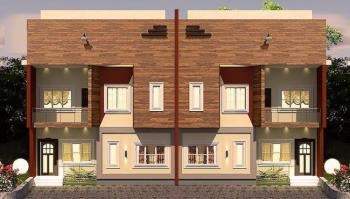 Superb 4 Bedroom Twin Duplex, Eagles Court, The Vintage. Behind Azman Filling Station, Kuchiako, Kuje, Abuja, Semi-detached Duplex for Sale