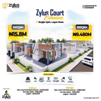 Buy & Build Plot of Estate Land in a Developed Estate, Inside Richland Garden Estate, Bogije, Ibeju Lekki, Lagos, Residential Land for Sale