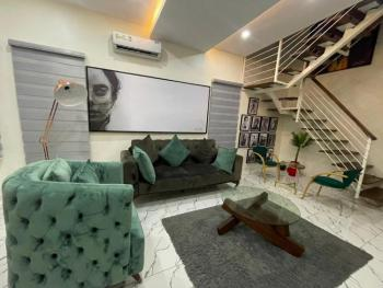 Tastefully Furnished 2 Bedroom Duplex Apartment in a Beautiful Estate., Olusesi Road, By Lekki Conservation Center, Lekki Expressway, Lekki, Lagos, Semi-detached Duplex Short Let