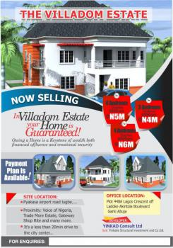 Estate Plots of Land, Villadom Estate, Pyakasa, Lugbe District, Abuja, Residential Land for Sale