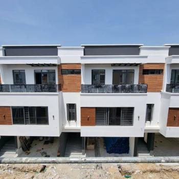 Amazing 4 Bedrooms Terraced Duplex Serviced with Swimming Pool and Power, Ologolo, Lekki, Lagos, Terraced Duplex for Sale