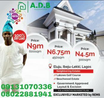 Land, Eluju, Ibeju Lekki, Lagos, Residential Land for Sale