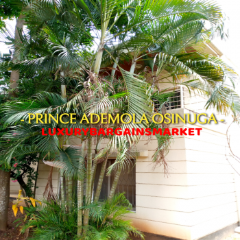 Deal. Serviced 5 Bedrooms Detached House + Garden + Tennis + Pool, Old Ikoyi, Ikoyi, Lagos, Detached Duplex for Rent