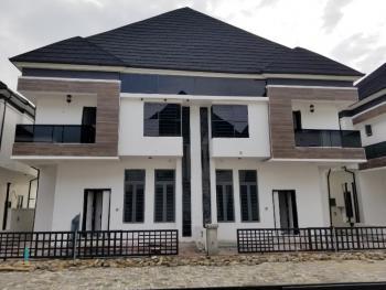 Tastefully Finished 4 Bedroom Duplex with a Room Bq, Chevron Alternative, Lekki Phase 2, Lekki, Lagos, Semi-detached Duplex for Rent