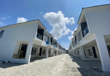 New 4 Bedrooms Terraced Duplex, Orchid Hotel Road, Lafiaji, Lekki, Lagos, Terraced Duplex for Sale