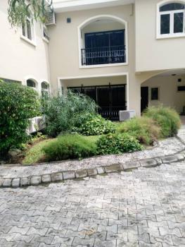 Fully Serviced 4 Bedroom Terraced Duplex with 2 Rooms Bq, Osborne Phase 1, Osborne, Ikoyi, Lagos, Terraced Duplex for Rent