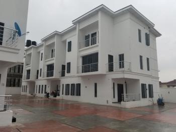 Serviced 24hrs Light 4 Bedrooms Terrace Duplex, Osapa London, Osapa, Lekki, Lagos, Terraced Duplex for Rent