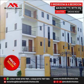 4 Bedrooms Maisonette with Boys Quarter, Orchid, Lekki, Lagos, Terraced Duplex for Sale