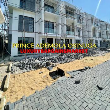 Newly Built 6 Bedroom Semi Detached Terraced House + Bq, Banana Island Estate, Ikoyi, Lagos, Terraced Duplex for Sale
