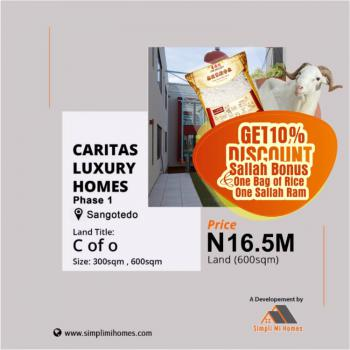 Certificate of Occupancy, Off Monastery Road, Sangotedo, Ajah, Lagos, Mixed-use Land for Sale