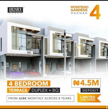 Get a Fantastic Home and Pay for Up to 8 Years, Lekki Scheme 2, Lekki Phase 2, Lekki, Lagos, Terraced Duplex for Sale