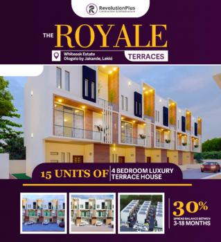 Pay for 12 Months No Increase. Documented House, The Royale Terraces Estate, Ologolo, Lekki, Lagos, Semi-detached Duplex for Sale