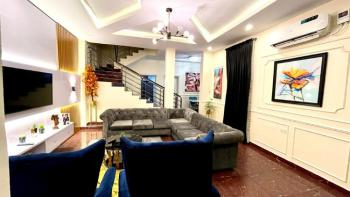 Superb 4 Bedroom, Styled Just Right, Prince Ademola Eletu Way, Canal West Estate, Osapa, Lekki, Lagos, Semi-detached Duplex Short Let