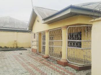 3 Bedroom Detached Bungalow with 1 Bedroom Flat Bq on 1 Plot, Off Rumuodara By Culvert, Rumuduru, Port Harcourt, Rivers, Detached Bungalow for Sale