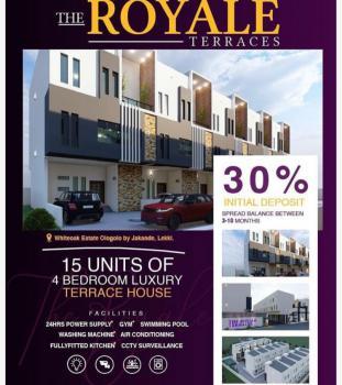 15 Units 4 Bedrooms Terraced Duplexes, Ologolo, Lekki, Lagos, Terraced Duplex for Sale