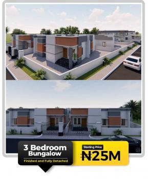 3 Bedroom Detached Bungalow on Offplan, Zylus Court, Bogije, Ibeju Lekki, Lagos, Detached Bungalow for Sale