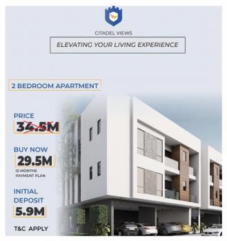 2 Bedroom Terrace with Bq, Beside Lagos Business School, Ajah, Lagos, Terraced Duplex for Sale
