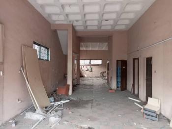 Spacious Warehouse Facing The Main Road, Herbert Macaulay Way, Alagomeji, Yaba, Lagos, Warehouse for Rent