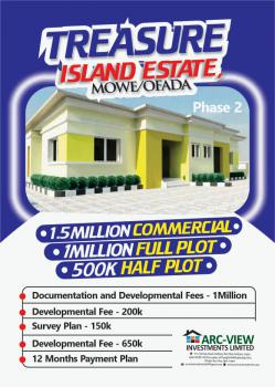 Plots of Land with C of O in a Beautiful Location, Orile Imo, Mowe Ofada, Ogun, Mixed-use Land for Sale